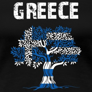 Nation-Design Greece - Women's Premium T-Shirt
