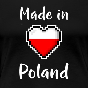 Made in Poland - Premium T-skjorte for kvinner