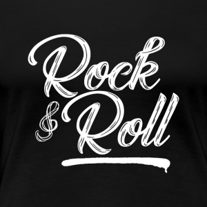 Rock and Roll - Musique - T-shirt Premium Femme