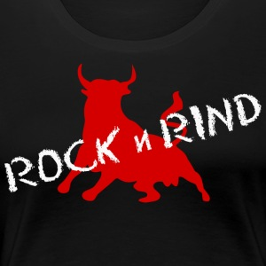 ROCK N RIND 3 - Women's Premium T-Shirt