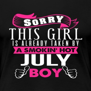 This Girl Is Already Taken By JULY - Women's Premium T-Shirt