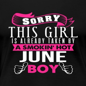 This Girl Is Already Taken By JUNE - Women's Premium T-Shirt