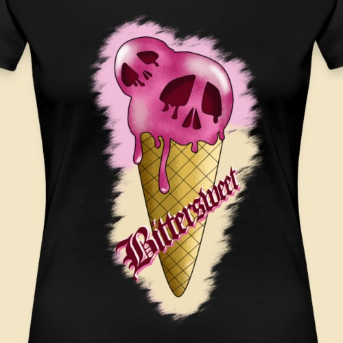 Skull Ice - Frauen Premium T-Shirt