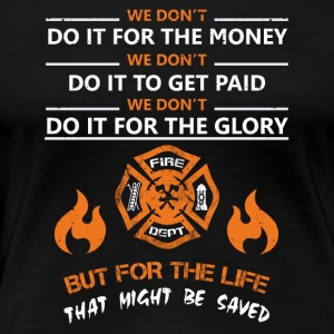 Lifeguard firefighter rescue service - Women's Premium T-Shirt