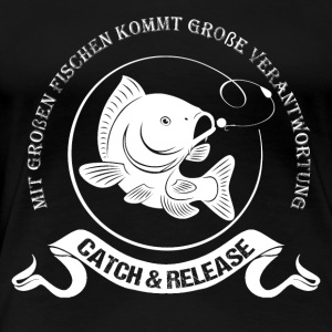 CArphunter KArpfen Catch & Release - Frauen Premium T-Shirt