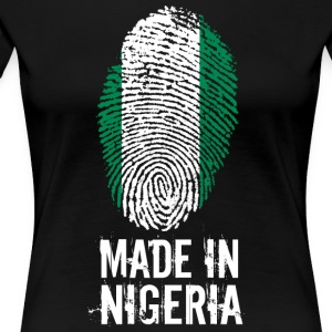 Made In Nigeria - Premium T-skjorte for kvinner