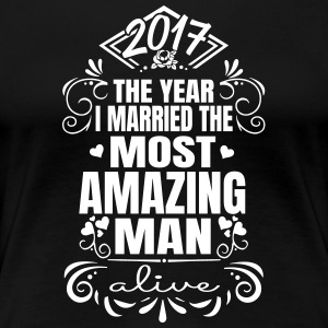Wedding 2017 - Best Man - Vrouwen Premium T-shirt