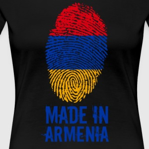 Made in Armenia / Gemacht in Armenien - Frauen Premium T-Shirt
