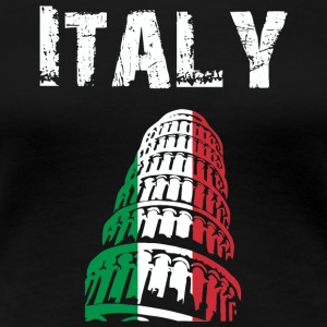 Nation-Design Italy 02 - Dame premium T-shirt