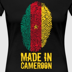 Made in Cameroon / Gemacht in Kamerun - Frauen Premium T-Shirt