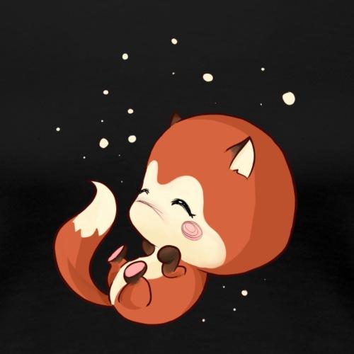 Kawaii Baby Fuchs - Frauen Premium T-Shirt