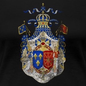 French Coat of Arms France Symbol - Women's Premium T-Shirt