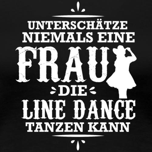 Line Dance Shirt - Linedance Country Cowboy Tanzen - Frauen Premium T-Shirt
