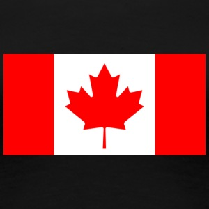 National Flag Of Canada - Premium-T-shirt dam