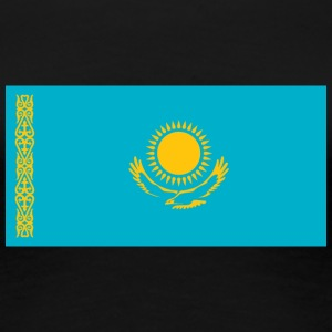 National Flag Of Kazakhstan - Women's Premium T-Shirt
