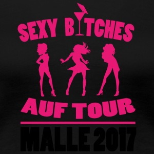 SEXY BICHRES ON TOUR MALLORCA 2017 - Frauen Premium T-Shirt