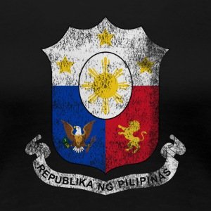 Filipino Coat of Arms Philippines Symbol - Women's Premium T-Shirt