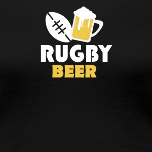 Rugby and beer - Women's Premium T-Shirt
