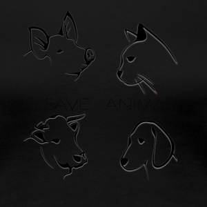 Save Animal - Vrouwen Premium T-shirt
