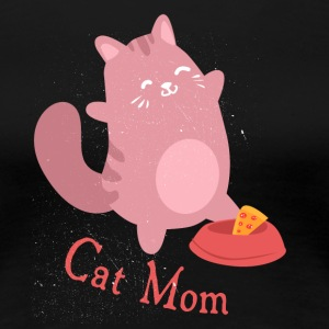 Cat Mom Catmamas Catfan Catmutti gift - Women's Premium T-Shirt