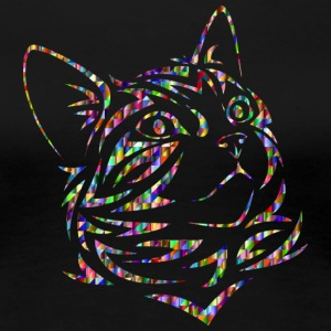 Colorful cat - Women's Premium T-Shirt