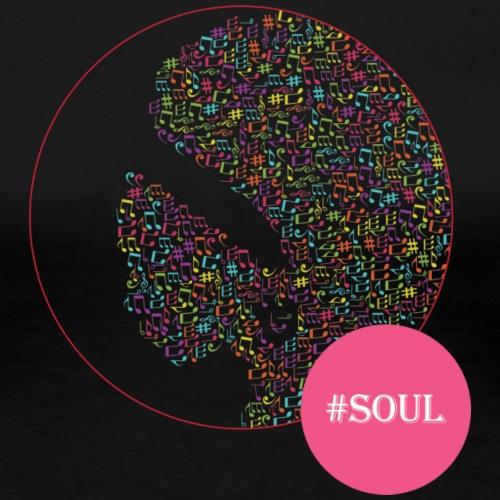 Soul PINK - Vrouwen Premium T-shirt