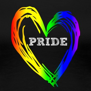 PRIDE HEART - Women's Premium T-Shirt