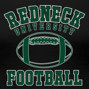 Shirt Redneck University Football - Frauen Premium T-Shirt