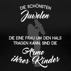 Mutter Juwelen - Frauen Premium T-Shirt