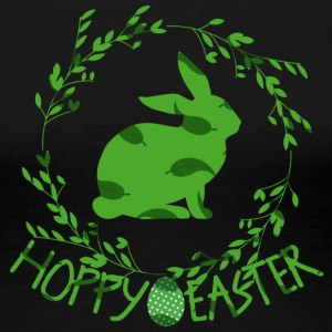 Easter / Easter bunny: Hoppy Easter - Women's Premium T-Shirt