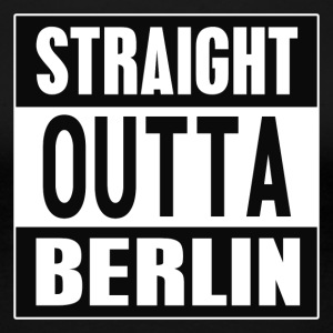Straight outta Berlin - Frauen Premium T-Shirt