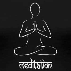 Meditation - Frauen Premium T-Shirt