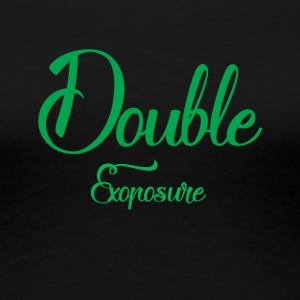 Double exposure - Vrouwen Premium T-shirt