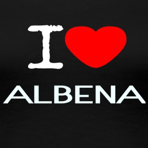 I LOVE ALBENA - Women's Premium T-Shirt