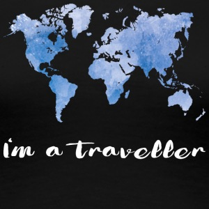 I'm a traveler - Women's Premium T-Shirt
