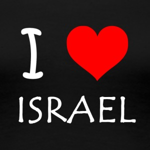 I Love Israel - Women's Premium T-Shirt