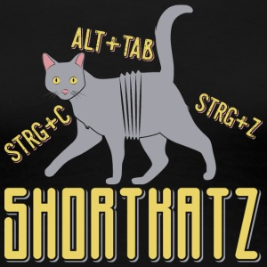 Shortkatz - Frauen Premium T-Shirt