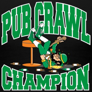 Irish Pub Crawl Champion - Premium T-skjorte for kvinner