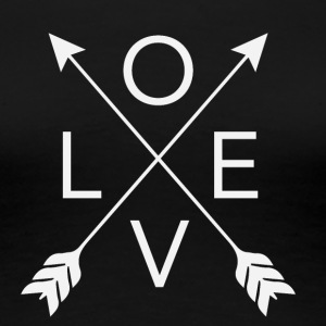 love arrows - Women's Premium T-Shirt