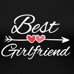 Best girlfriend - Women's Premium T-Shirt