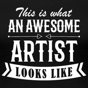 Awesome Artist - Women's Premium T-Shirt