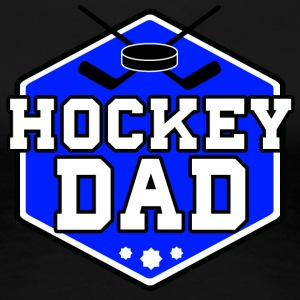 Hockey Dad - Premium-T-shirt dam
