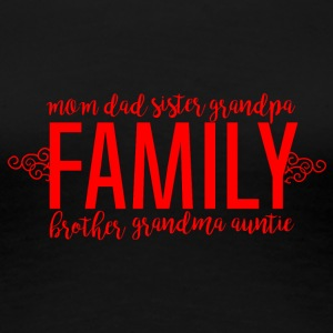 Family - Family Love - Women's Premium T-Shirt