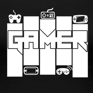 Gamer - Gamers Passion - Premium-T-shirt dam