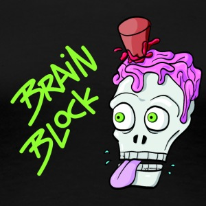 Brain Block - Frauen Premium T-Shirt
