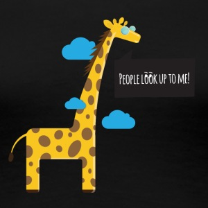Cool Giraffe - Women's Premium T-Shirt