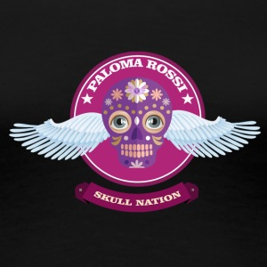 Paloma Rossi - Flying Skull Limited Edition - Frauen Premium T-Shirt