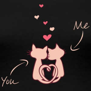 Valentines Day - You and me - Women's Premium T-Shirt