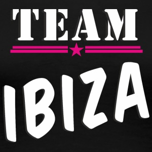 Team Ibiza white - Frauen Premium T-Shirt
