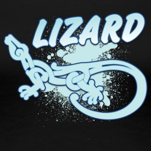 Cool tribal lizard - Vrouwen Premium T-shirt